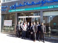 بازدید عضو هیاتمدیره بانک توسعه تعاون از استان همدان