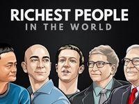 ۱۰ثروتمند نخست جهان را بشناسید