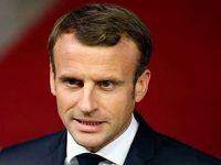 پرتاب تخم مرغ به سمت رئیس جمهور فرانسه +فیلم