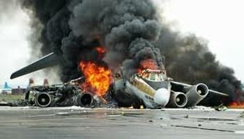 سقوط هواپیما در کنیا +فیلم