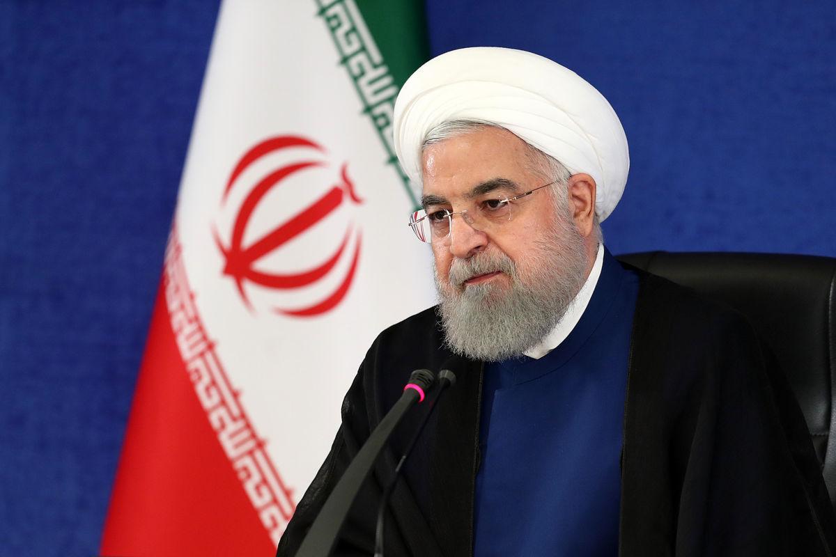 روحانی: سرزمین ما هر روز آبادتر میشود/  علیرغم تحریمها ملت بزرگ ایران همیشه پیروز است