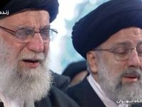 رهبر انقلاب در کدام فرازهای نماز بر پیکر سردار سلیمانی اشک ریختند؟