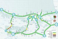 آخرین وضعیت ترافیکی جادههای شمالی کشور +نقشه