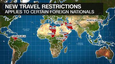 اجرای فرمان ترامپ در منع سفر اتباع ایران و 5 کشور دیگر به آمریکا آغاز شد