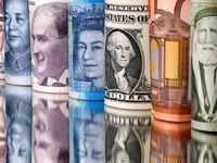 افزایش نرخ ۲۱ ارز بانکی