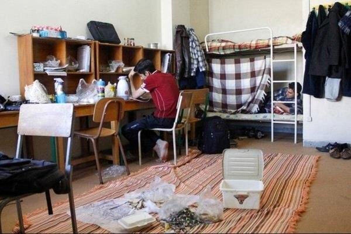 نحوه اسکان دانشجویان متبلا به کرونا در خوابگاهها