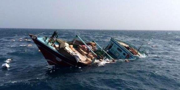 غرق شدن یک لنج سفاری درآبهای بوشهر +تکمیلی