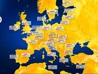موج گرما در اروپا