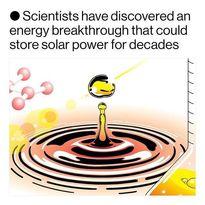 کشف سیستمی که گرمای خورشید را ذخیره میکند