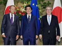 ژاپن و اتحادیه اروپا توافق نامه تجارت آزاد امضا کردند