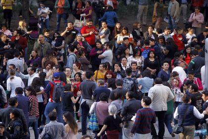 زلزله عظیم در مکزیک +تصاویر