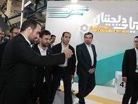بازدید وزیر ارتباطات از غرفه همراه اول