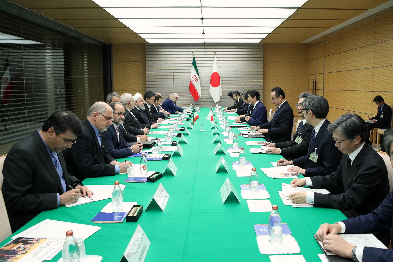 نشست مشترک ایران و ژاپن