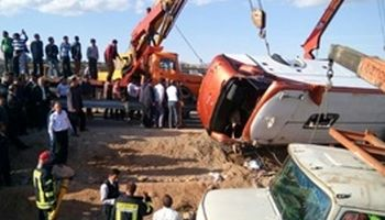 احراز هویت ۸نفر از اجساد سقوط اتوبوس در جاجرود +اسامی