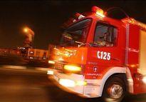 مرگ مرد جوان بین شعلههای سرکش آتش +تصاویر