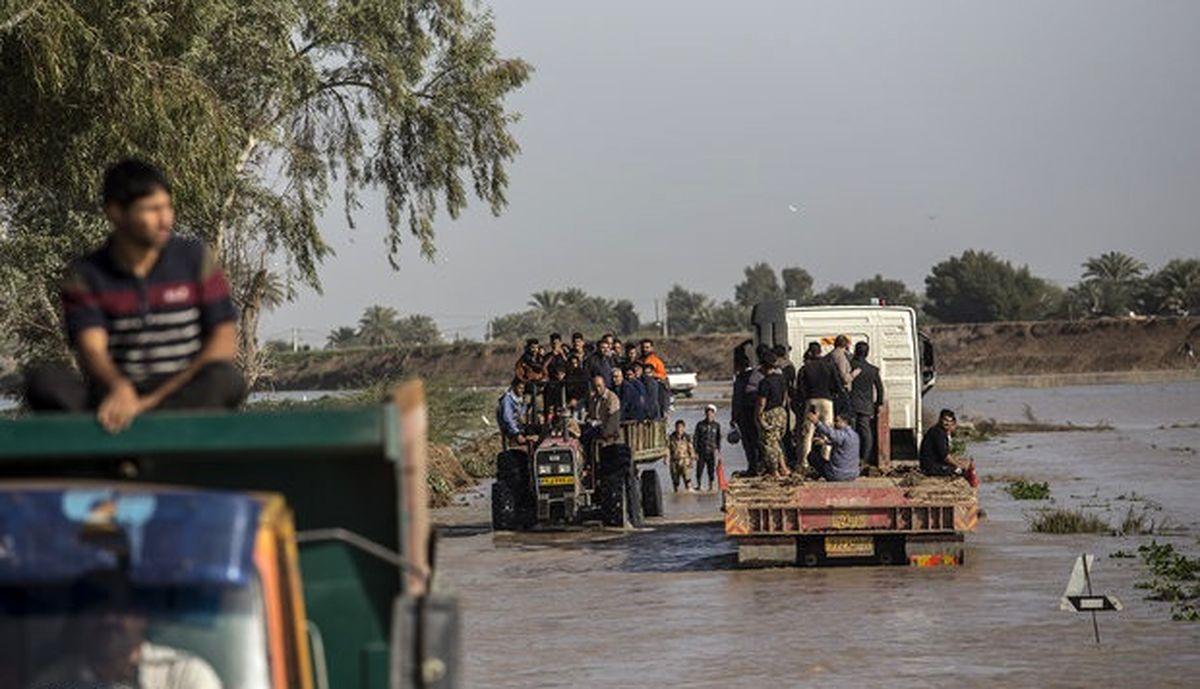 احتمال تخلیه روستاهای دشت آزادگان