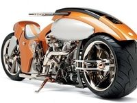 موتور سیکلتهای شگفت انگیز در جهان +تصاویر