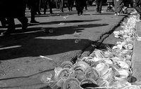 افزایش پسماند ظروف پلاستیکی در ایام محرم