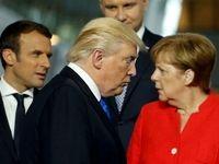ترامپ و مرکل باهم دیدار میکنند