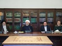 حاضران در جلسه امروز شورای عالی فضای مجازی +تصاویر