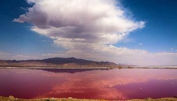 دریاچه فصلی مَهارلو در جنوب شرق شیراز  +تصاویر