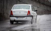 بارش باران در رشت + عکس