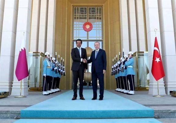 """امیر قطر """"قصر پرنده"""" به اردوغان هدیه داد +تصاویر"""