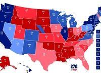 پیروزی قطعی ترامپ در چهار ایالت