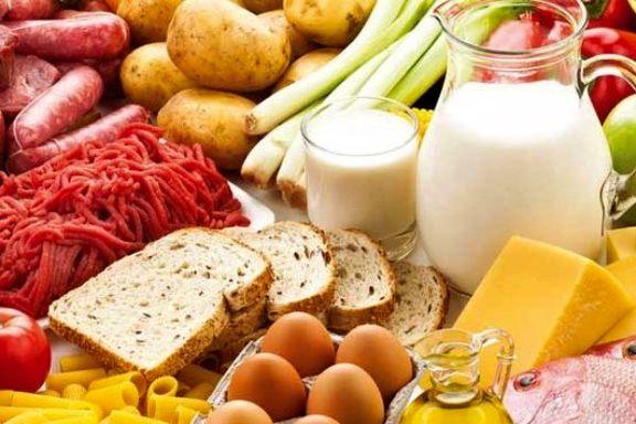 بهای مواد غذایی برای دومین ماه متوالی افزایش یافت