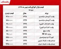 قیمت انواع وانت در تهران +جدول