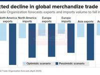 کاهش قابل انتظار در تجارت جهانی کالا