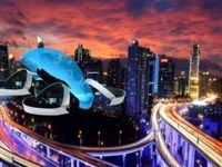 تویوتا خودروی پرنده میسازد +عکس