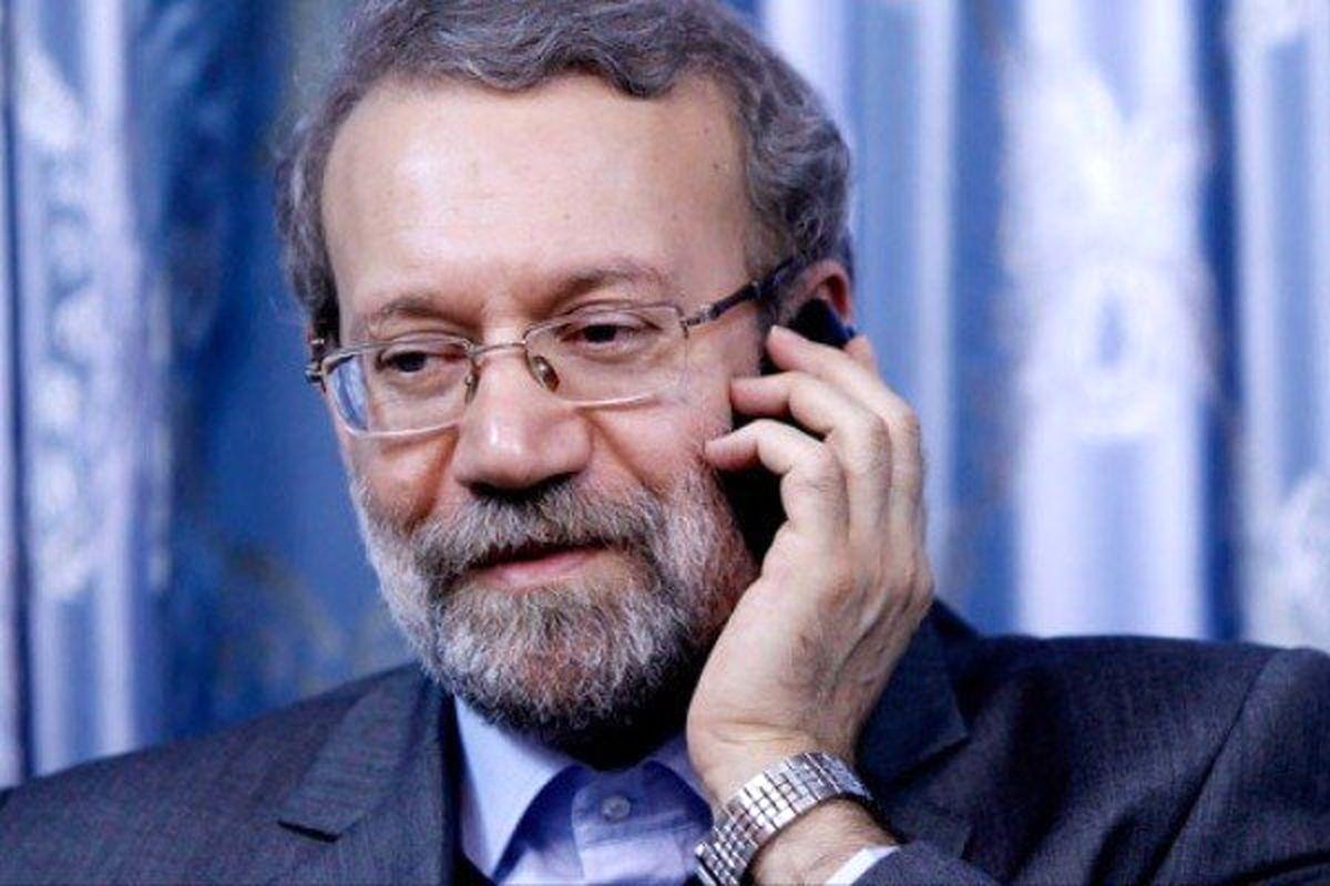 تماس تلفنی رئیس مجلس با استاندار آذربایجان شرقی