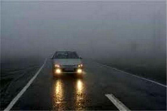 مه گرفتگی همراه با کاهش دید در اکثر استانها