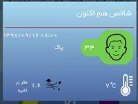 هوای تهران بعد از سه چهار روز آلودگی، پاک شد