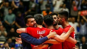 نبرد والیبال ایران، لهستان و برزیل برای صعود