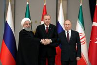 روحانی: ایران آماده حضور موثر در بازسازی سوریه است/ تلاش برای تجزیه سوریه پذیرفته نیست