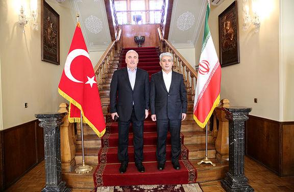 تاکید مدیران عامل بانک ملی ایران و زراعت بانک ترکیه بر گسترش همکاری های متقابل