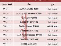 قیمت انواع دوچرخه ثابت در بازار چند؟ +جدول