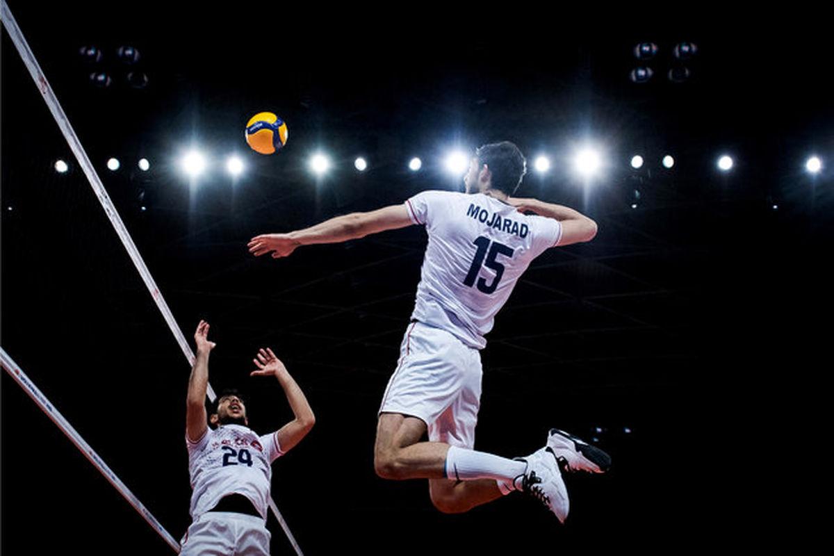 مسابقات والیبال المپیک بدون سرود ملی!