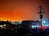 فرار از آتش در استرالیا! +تصاویر