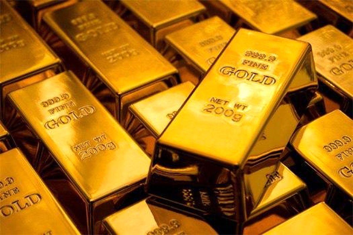 کاهش قیمت جهانی طلا همزمان با روند افزایشی بازارهای جهانی سهام