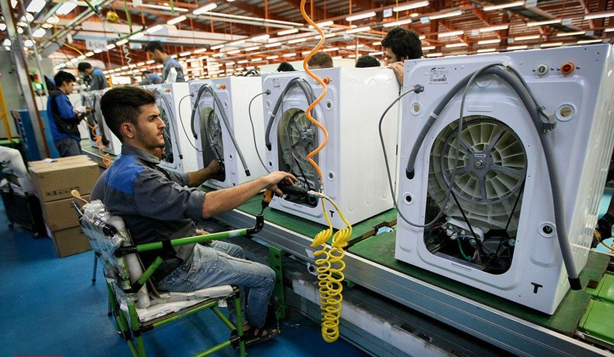 ظرفیت کارخانجات تولید لوازمخانگی، پاسخگوی نیاز داخل است