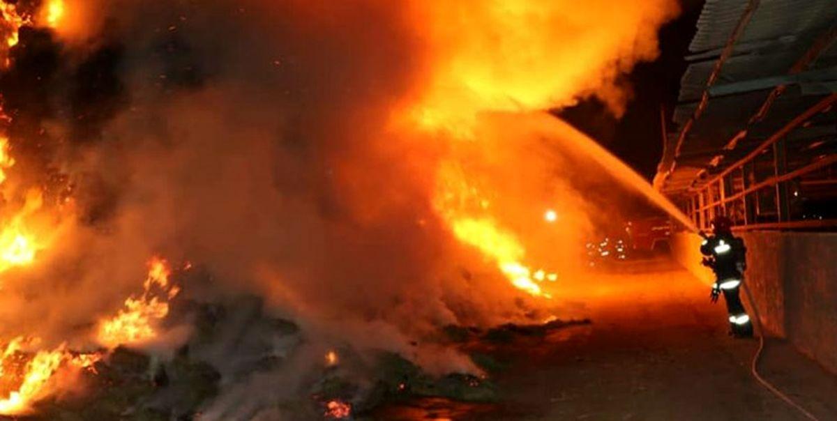 یک واحد مسکونی در یزد منفجر شد!