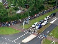 تصویری جالب از ساعت اوج ترافیک در هلند