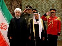 روحانی وارد کویت شد +تصاویر