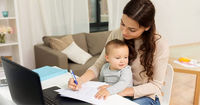 دورکاری در کنار کودکان امکان پذیر یا غیرممکن؟
