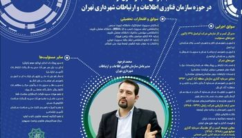 سرپرست جدید سازمان فناوری اطلاعات شهرداری تهران کیست؟ +اینفوگرافیک