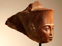 مجسمه سرِ فرعون ۴میلیون پوند فروخته شد +عکس