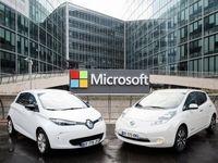 تلاش مایکروسافت برای به ثمرنشستن خودروهای خودران